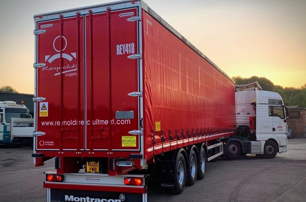 Brand new Trailers for the Reynolds Fleet